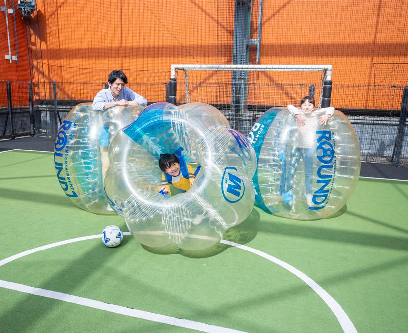 都内で出来る!新たなスポーツ「バブルサッカー」が楽しすぎる♪の画像